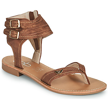 Shoes Women Sandals Les Petites Bombes CAMEL Camel