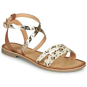 Shoes Women Sandals Les Petites Bombes AGATHE Gold
