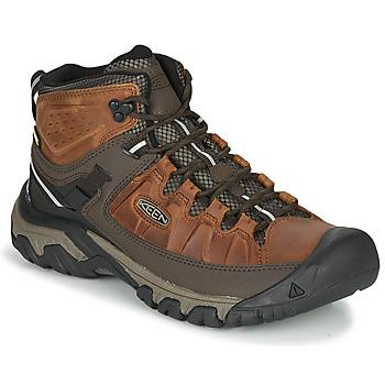 Shoes Men Hiking shoes Keen TARGHEE III MID WP Brown
