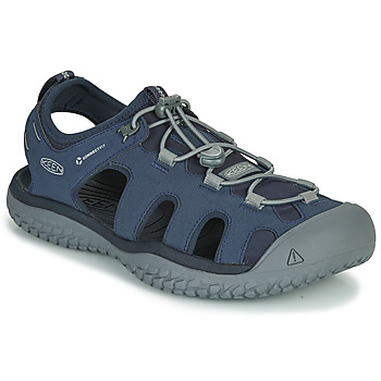 Shoes Men Sports sandals Keen SOLR SANDAL Blue / Grey