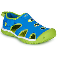 Shoes Children Sports sandals Keen STINGRAY Blue / Green