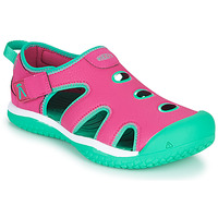 Shoes Girl Sports sandals Keen STINGRAY Violet / Blue
