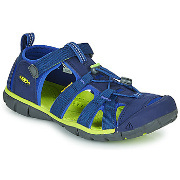 Shoes Children Sports sandals Keen SEACAMP II CNX Blue / Green