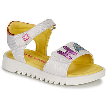 Shoes Girl Sandals Agatha Ruiz de la Prada SMILES White