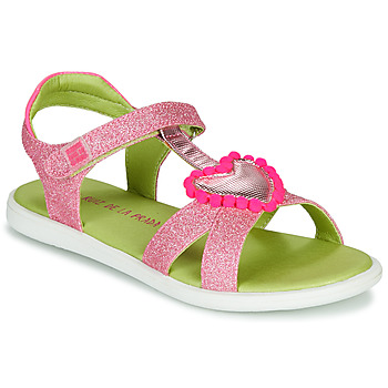Shoes Girl Sandals Agatha Ruiz de la Prada BEAUTY Pink