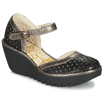 Shoes Women Court shoes Fly London YVEN  black / Bronze
