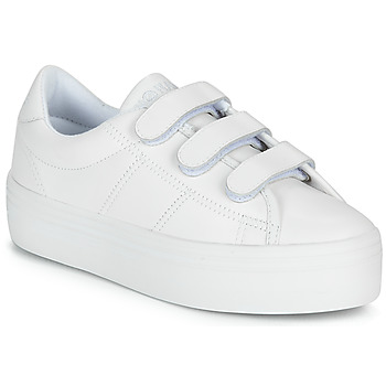 Shoes Women Low top trainers No Name PLATO STRAPS White