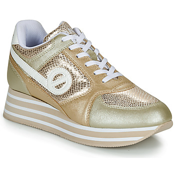 Shoes Women Low top trainers No Name PARKO JOGGER Bronze / Gold