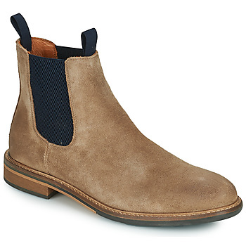 Shoes Men Mid boots Schmoove PILOT-CHELSEA Brown / Blue