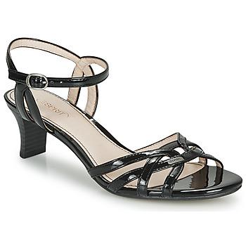 Shoes Women Sandals Esprit BIRKIN SANDAL Black