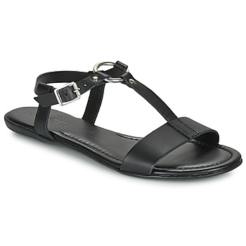 Shoes Women Sandals Esprit KONA T STRAP Black