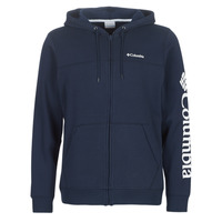 material Men sweaters Columbia COLUMBIA LOGO FLEECE FULL ZIP Blue