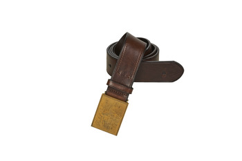 Accessorie Men Belts Polo Ralph Lauren PLO HRTG BLT-CASUAL-SMOOTH LEATHER Brown