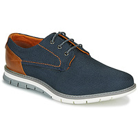 Shoes Men Low top trainers Bugatti SANDMAN Marine / Brown