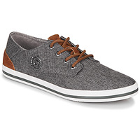 Shoes Men Low top trainers Bugatti ALFA Grey / Blue