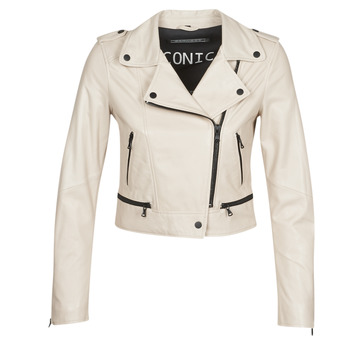 material Women Leather jackets / Imitation leather Oakwood YOKO Ivory