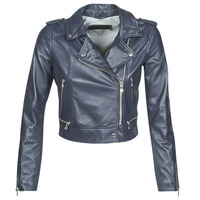 material Women Leather jackets / Imitation leather Oakwood YOKO Marine