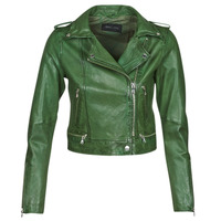 material Women Leather jackets / Imitation leather Oakwood KYOTO Green