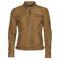 material Men Leather jackets / Imitation leather Oakwood PLEASE Cognac
