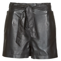 material Women Shorts / Bermudas Oakwood CARMEN Black