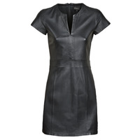 material Women Short Dresses Oakwood PLEASE Black