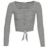 material Women Blouses Pepe jeans FALBALA Black