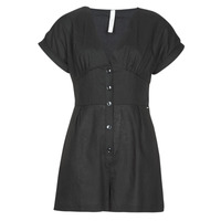 material Women Jumpsuits / Dungarees Pepe jeans SHERGIA Black