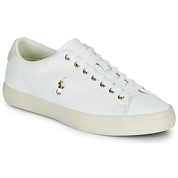 Shoes Men Low top trainers Polo Ralph Lauren LONGWOOD-SNEAKERS-VULC White