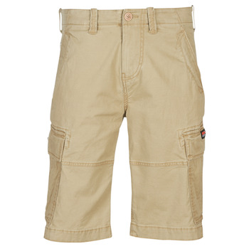 material Men Shorts / Bermudas Superdry CORE CARGO SHORTS Beige