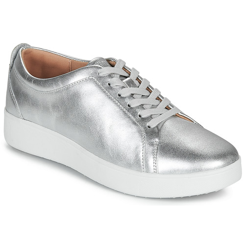 FitFlop RALLY SNEAKERS Silver - Fast