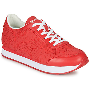 Shoes Women Low top trainers Desigual GALAXY LOTTIE Red