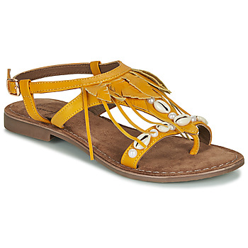 Shoes Women Sandals Metamorf'Ose GAIETE Yellow