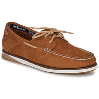 Shoes Men Boat shoes Timberland Atlantis Break Boat Shoe Cognac