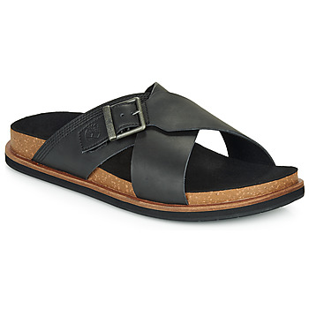 Shoes Men Mules Timberland AMALFI VIBES CROSS SLIDE Black