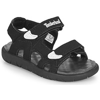 Shoes Children Sandals Timberland PERKINS ROW 2-STRAP Black