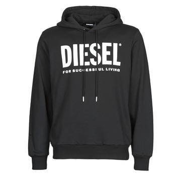 material Men sweaters Diesel GIR-HOOD-DIVISION Black