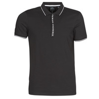 material Men short-sleeved polo shirts Armani Exchange HANEMO Black