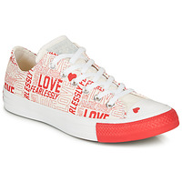 Shoes Women Low top trainers Converse CHUCK TAYLOR ALL STAR - OX White / Red