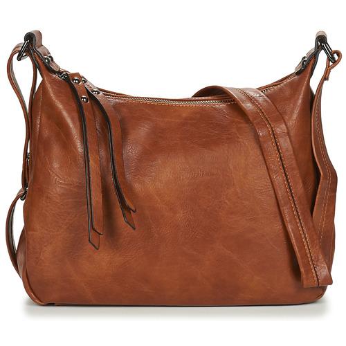 Bags Women Shoulder bags Moony Mood TINRO Cognac