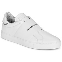 Shoes Men Low top trainers John Galliano 2244A White