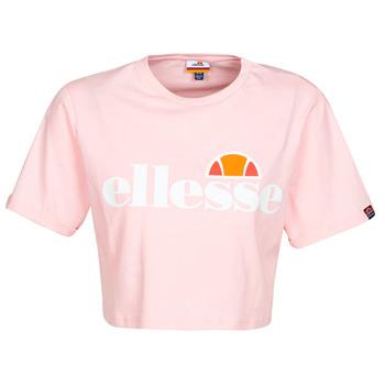 material Women short-sleeved t-shirts Ellesse ALBERTA Pink