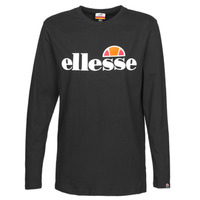 material Women Long sleeved shirts Ellesse PAP GRAZIE Black