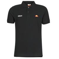 material Men short-sleeved polo shirts Ellesse MONTURA Black