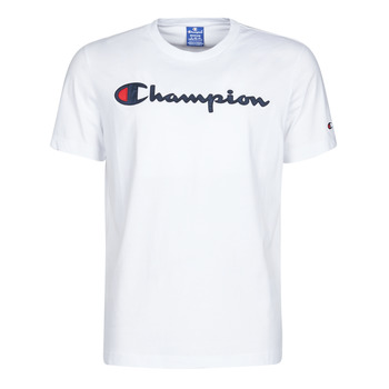 material Men short-sleeved t-shirts Champion 214194 White