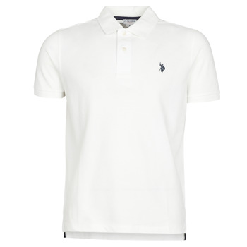 material Men short-sleeved polo shirts U.S Polo Assn. INSTITUTIONAL POLO White
