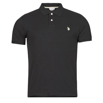 material Men short-sleeved polo shirts U.S Polo Assn. INSTITUTIONAL POLO Black