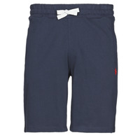 material Men Shorts / Bermudas U.S Polo Assn. TRICOLOR SHORT FLEECE Marine