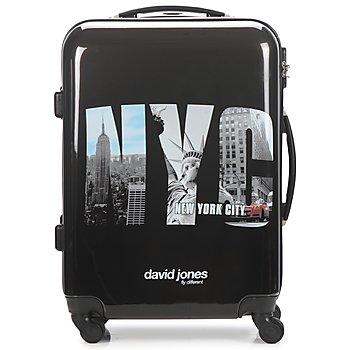 Suitcase David Jones STEBI 53L Black 350x350