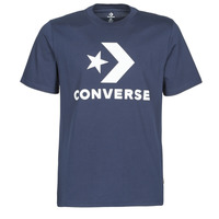 material Men short-sleeved t-shirts Converse STAR CHEVRON TEE Blue