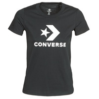 material Women short-sleeved t-shirts Converse Star Chevron Tee Converse /  black